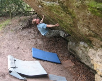 Bouldering at the Sphinx